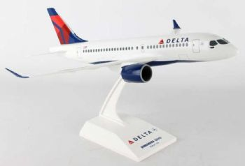 Airbus A220-100 (Bombardier CS-100) Delta Airlines Skymarks Model Scale 1:100 SKR914 E